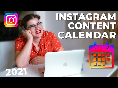 How I create an Instagram Content Calendar that helps you GROW! 📈