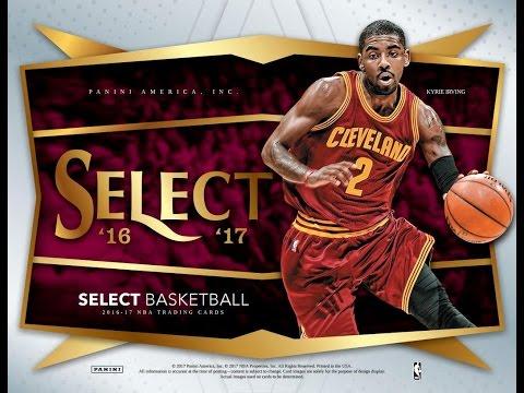 Box Busters: 2016-17 Select Basketball
