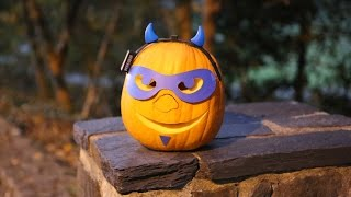 A Guide to Carving a Duke Blue Devil Pumpkin  video