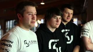 Kingston HyperX - SK Gaming LoL Interview at Dreamhack Winter 20