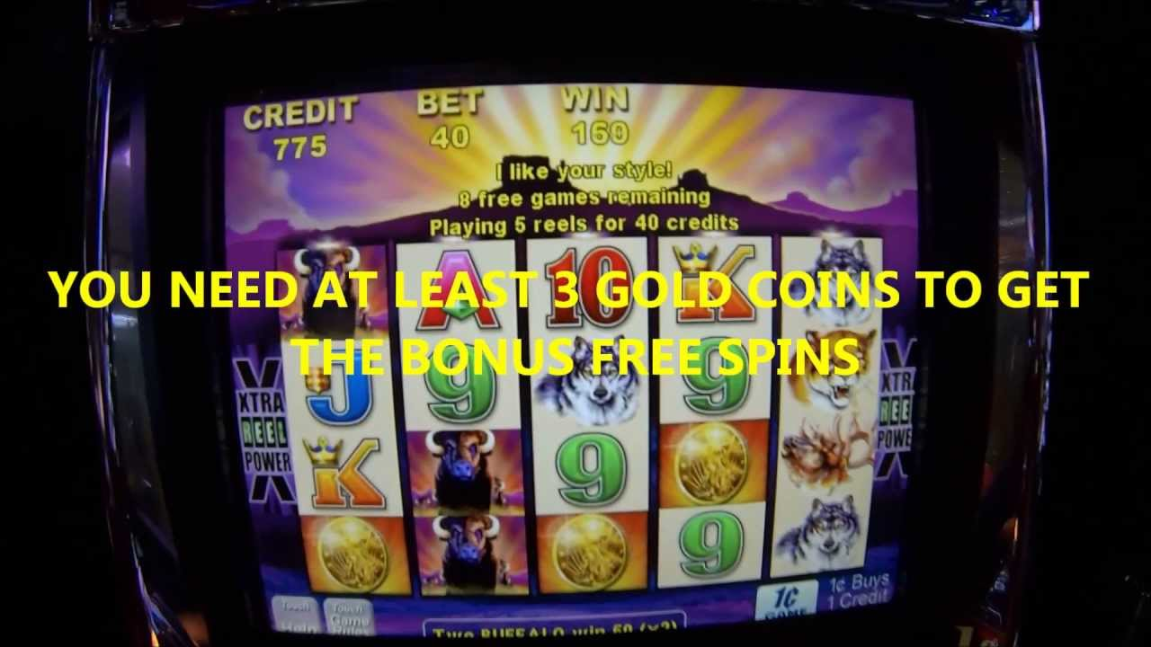 Buffalo Video Slot Machine Free Bonus Spins Youtube