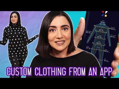 I Got Custom Clothes From An App