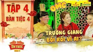 Thiên đường ẩm thực 5   Tập 4 Bàn tiệc 4: Puka, Lê Giang cười hả hê khi ông Hoàng liên tục nói lắp