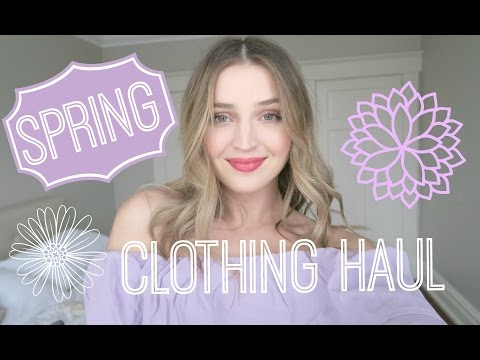 SPRING TRY-ON CLOTHING HAUL | Asos, H&M, & MORE