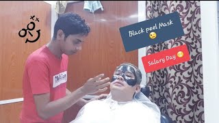 First Time na mag Black peel Mask + Tips for Future Ofw + Sahod Day #Blackpeelmask #ofw #Muscat