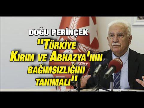 """Doğu Perinçek: """"Türkiye, Kırım ve Abhazya'nın bağımsızlığını tanımalı"""""""