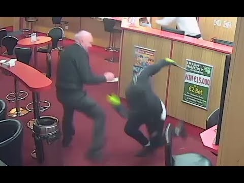 Meanwhile in Ireland: Badass grandpa fights off armed gang with bare hands