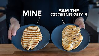 Recipes Remastered: Grilled Chicken Breast