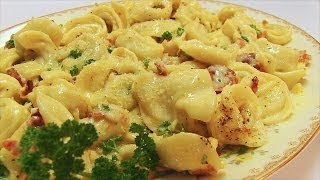 Betty's Creamy Tortellini Carbonara