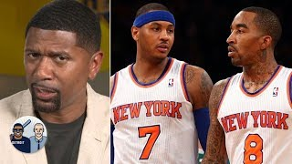 Jalen Rose reacts to the JR Smith-Carmelo Anthony to the Lakers rumors   Jalen & Jacoby