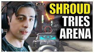 SHROUD -  Tries NEW Apex Legends Arena For First Time!