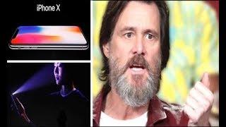 """JIM CARREY  AFIRMA QUE EL NUEVO """"IPHONE"""" DE APPLE ESTA DISEÑADO PARA EXCLAVIZAR A LA HUMANIDAD!!"""