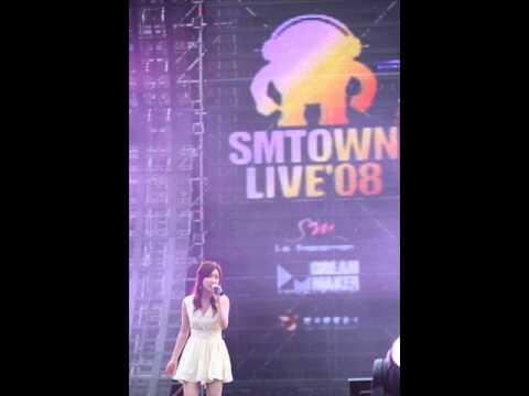 2008.08.15 SMTOWN LIVE'08 장리인 - I WILL (Sound)