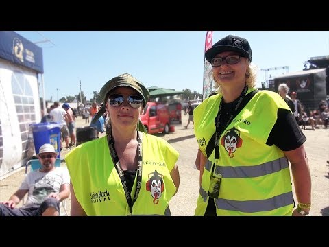 The unsung heroes of the festival - Sweden Rock Festival 2018