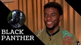 Chadwick Boseman on Being Marvel's First Black Superhero
