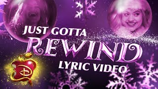 Audrey's Christmas Rewind 🎄 | Lyric Video | Descendants 3
