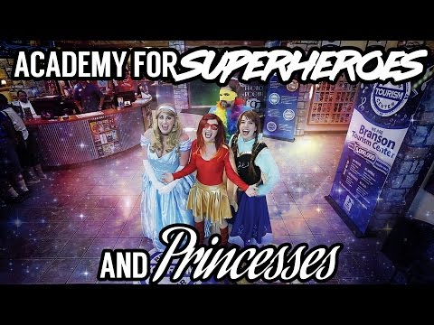 Academy for Superheroes and Princesses | Branson Missouri | Webcam Show
