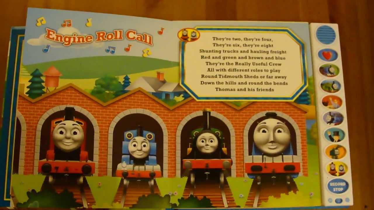 Record A Song Sing With Thomas Amp Friends Youtube
