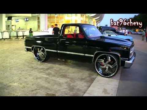 Short Bed Chevy C10 Silverado Truck on 28
