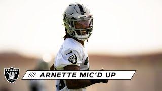 Damon Arnette Mic'd Up at 2020 Training Camp:
