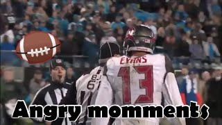 ANGRIEST MOMENTS OF THE NFL EVER!!!