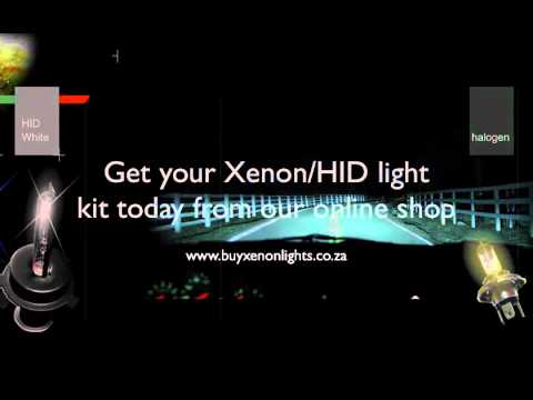 difference between halogen and xenon hid lights youtube. Black Bedroom Furniture Sets. Home Design Ideas