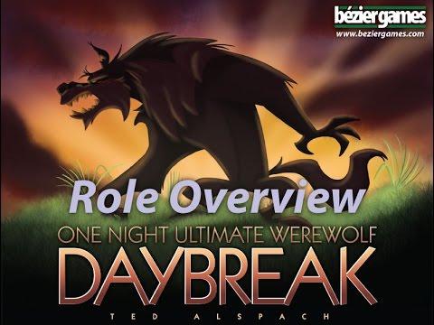 Bézier Games One Night Ultimate Werewolf : Daybreak
