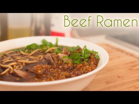 Simple Japanese Beef Ramen