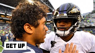 Lamar Jackson or Russell Wilson: Who should win NFL MVP? | Get Up