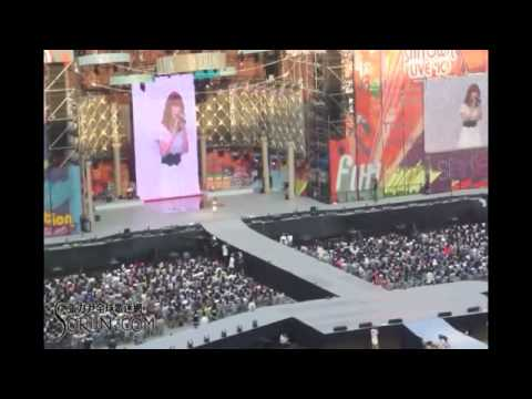 2010.08.21 SMTOWN Live in Seoul - Zhang Li Yin - I Will & Moving On