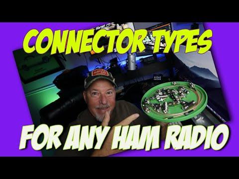 Connectors & Adaptors For Ham Radio 101