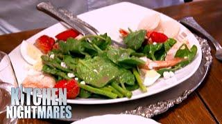 Gordon Ramsay Served STRAWBERRIES & SHRIMP  Kitchen Nightmares