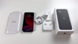 iPhone 11 Unboxing: Black!
