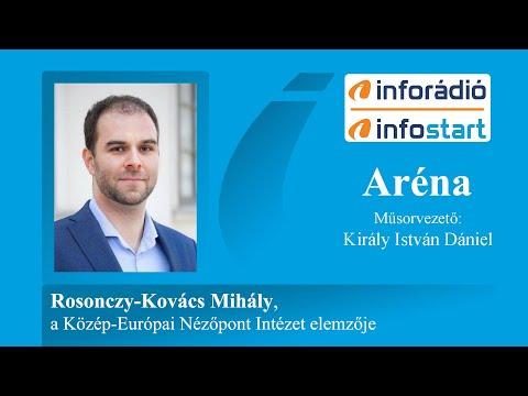 InfoRádió - Aréna - Rosonczy-Kovács Mihály - 2020.07.13.