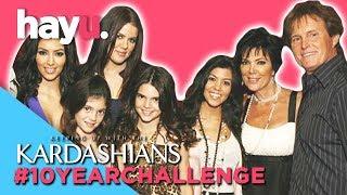 #10YearChallenge Kardashians Edition! | Keeping Up With The Kardashians