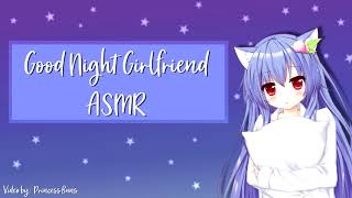 ASMR - Night Girlfriend (Get ready for bed)