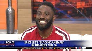 BlacKkKlansman: John David Washington Interview