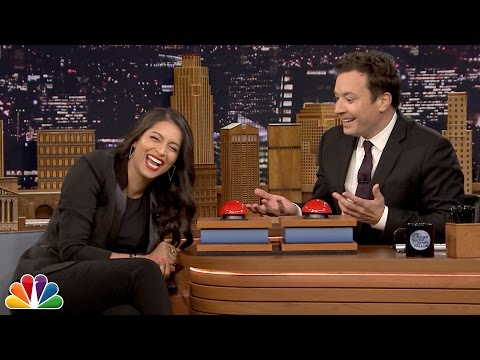 Fast Family Feud with Lilly Singh