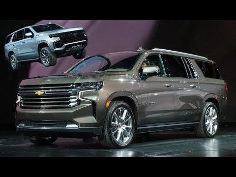 2021 Chevrolet Tahoe and Suburban Explained