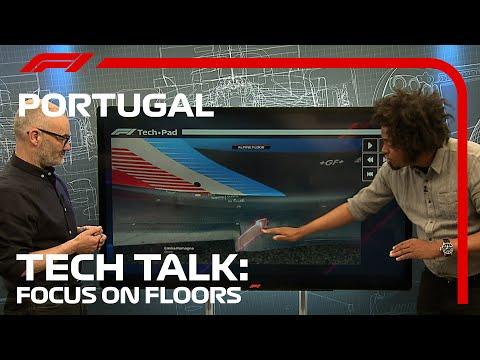 The Secret To Flawless Floors | F1 TV Tech Talk | 2021 Portuguese Grand Prix