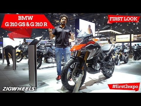BMW G 310 GS and BMW G 310 R At Auto Expo: First Look