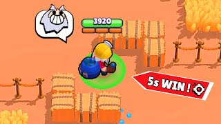 *World Record* 5s WIN KNOCKOUT ! Brawl Stars Funny Moments & Fails & Glitches ep.301