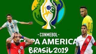 Lịch thi đấu vòng bán kết copa america Brazil 2019 || CBR TV