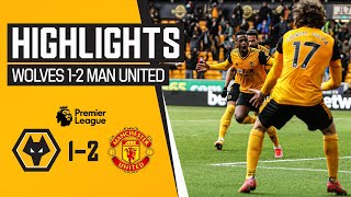 The final match ends in defeat | Wolves 1-2 Manchester United | Highlights