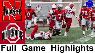 Nebraska vs #5 Ohio State Highlights | College Football Week 8 | 2020 College Football Highlights