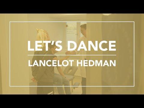 Lancelot Hedman från Let's Dance besöker Skandinaviska Kiropraktorhögskolan.