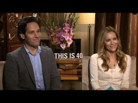 'This Is 40' Paul Rudd and Leslie Mann Interview