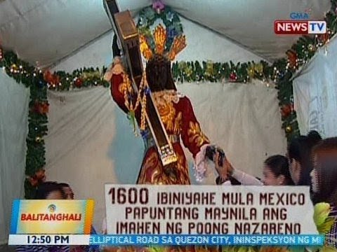 BT: Imahen ng Itim na Nazareno, mahigit 400 taon nang nasa pangangalaga ng Pilipinas
