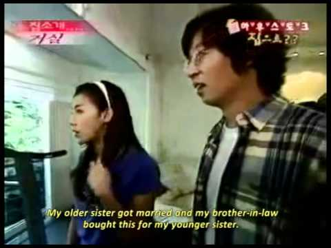 A Visit to Ha Ji Won's house [Eng] 1/2