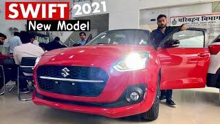 New MARUTI SWIFT 2021 Facelift- ZXI Plus Top Model   Interior, Exterior & OnRoad Price